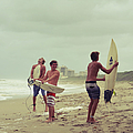 boys of summer Print by Laura  Fasulo