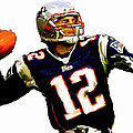 Brady  Tom Brady  Poster by Iconic Images Art Gallery David Pucciarelli