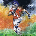 Brandon Stokley Poster by Jerry Bates