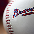 Braves Baseball Poster by Ricky Barnard