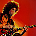 Brian May Poster by Paul Meijering
