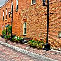 Brick Alley Print by Baywest Imaging
