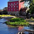 Bridgeton Mill 2 Print by Marty Koch