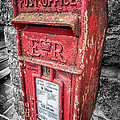 British Post Box Poster by Adrian Evans