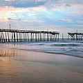 Broken Dreams - Frisco Pier Outer Banks I Print by Dan Carmichael