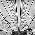 Brooklyn Bridge Poster by John Farnan