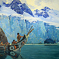 Browne's The Chief's Canoe Print by Cora Wandel