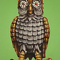 Bubo Print by Brent Andrew Doty