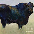 Bull Poster by Frances Marino