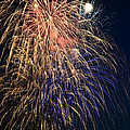 Bursting in Air Print by Ronda Broatch