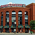 Bush Stadium Home of the St Louis Cardinals Print by Greg Kluempers