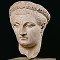 Bust of Emperor Claudius Poster by Anonymous