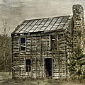 Cabin By The Track Series II Print by Kathy Jennings
