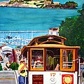 Cable Car No. 17 Print by Mike Robles