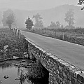 Cades Cove Black and White Poster by Frozen in Time Fine Art Photography