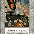 Cadillac 1920 1920s Usa Cc Cars Print by The Advertising Archives