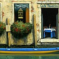 Cafe Tavolini Poster by Michael Swanson