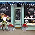 Caitlin's Cakery and Cafe Print by Catherine Holman