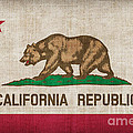 California State flag Poster by Pixel Chimp