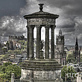 Calton Hill Poster by Marion Galt
