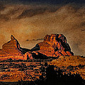 Camelback Canyon Lands Print by Robert Albrecht