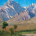 Camp Independence Colorado Print by Albert Bierstadt