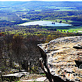 Canaan Valley from Valley View Trail Print by Thomas R Fletcher