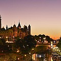 Canadian Parliament Buildings Print by Tony Beck