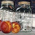 Canning Time Print by Barbara Jewell
