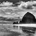 Cannon Beach on the Oregon Coast Poster by David Patterson