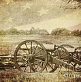 Cannons at Pea Ridge Print by Pam  Holdsworth