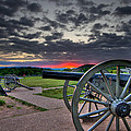 Canon over Gettysburg Print by Andres Leon