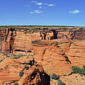 Canyon de Chelly from Sliding House Overlook Poster by Christine Till