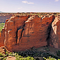 Canyon de Chelly - View from Sliding House Overlook Print by Christine Till