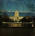 Capitol Blues Poster by Terry Rowe