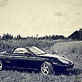 The 2002 Porsche Boxster S Car Poster by Carol  Lux Photography