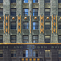 Carbide and Carbon Building Print by Adam Romanowicz