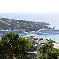 Caribbean Cruise - St Thomas - 1212268 Poster by DC Photographer
