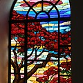 Caribbean Stained Glass  Print by The Art of Alice Terrill