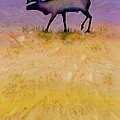 Caribou on the Tundra 2 Poster by Carolyn Doe