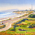 Carlsbad Rt 101 Print by Mary Helmreich
