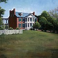 Carnton Plantation in Franklin Tennessee Print by Janet King