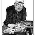 Carroll Shelby    Rest in peace Print by Jack Pumphrey