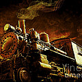 Casey Jones and the Cannonball Express Print by Edward Fielding
