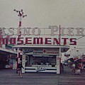Casino Pier Amusements Seaside Heights NJ Print by Joann Renner
