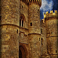 Castle by Moonlight Print by Lee Dos Santos