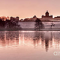 Castle Howard Dawn Print by Janet Burdon