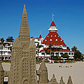 Castle In The Sand Print by Craig Carter