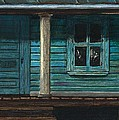 Cat on the Porch Poster by J Ferwerda