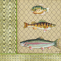 Catch of the Day-A Print by Jean Plout